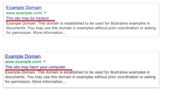 взлом сайта google