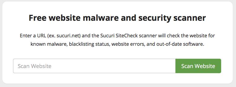 сканер безопасности сайта