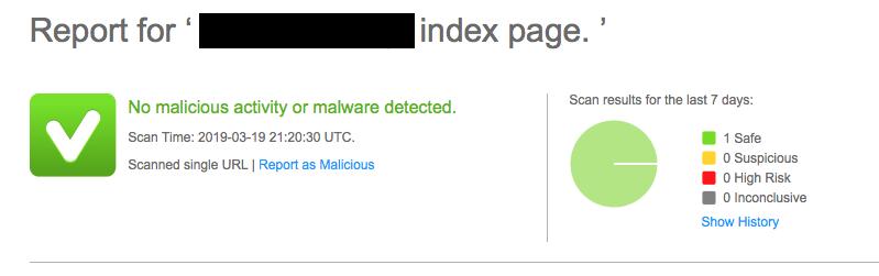 webinspector проверка сайта